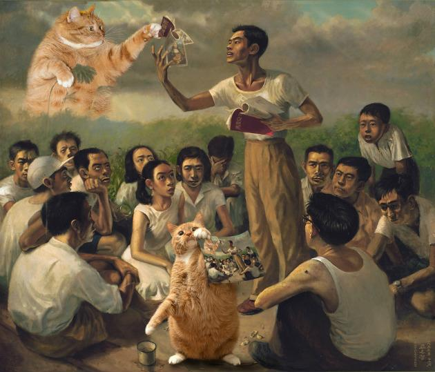 """<p><a href=""""https://www.facebook.com/artporters/""""><b>Meows in Museum</b></a></p><p>Feline lovers will love the tongue-in-cheek works by artist Svetlana Petrova. The Russian artist has inserted her beloved chubby tabby Zarathustra into digital reproductions of famed paintings. A total of 21 mixed media works are on display, including her rendition of Epic Poem of Malaya by local painter Chua Mia Tee. Snap up these pieces for your own collection and for a good cause, as 10 per cent of sale proceeds will be donated to the Cat Welfare Society Singapore.</p><p>When: From now until 30 Oct, 12pm</p><p>Where: The Fullerton Hotel Singapore, East Garden Foyer</p><p>Prices: Free admission</p>"""