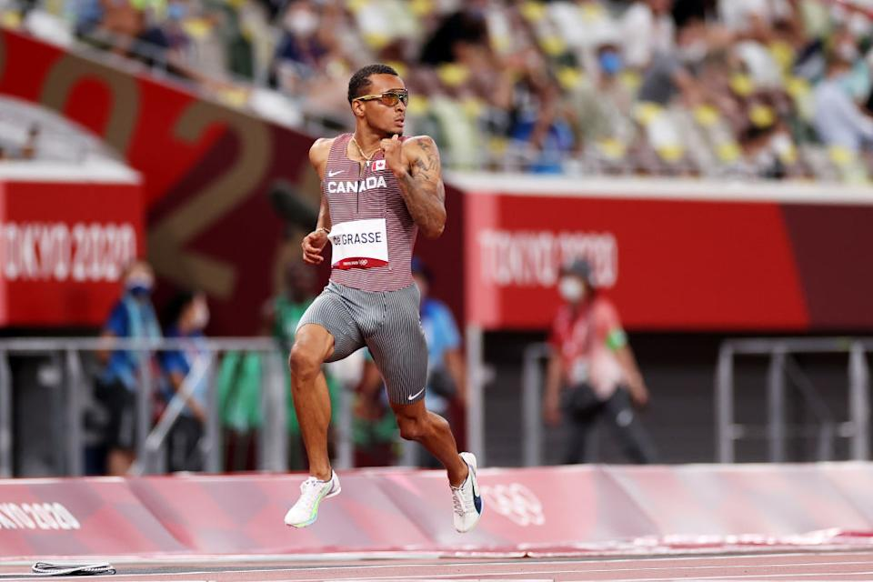 Kylie Masse and Andre De Grasse put forward sellar performances on Day 8 of the Tokyo Olympics. (Getty)