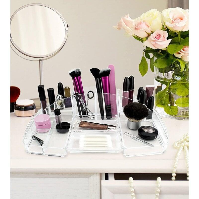<p>Creat the perfect beauty station with the <span>Mccalla Makeup Organizer</span> ($16, originally $24).</p>