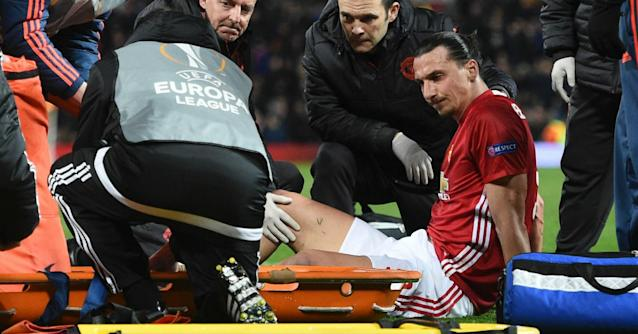 The Swedish striker is edging his way back from a serious knee injury, with the surgeon who operated on him urging him not to rush his recovery