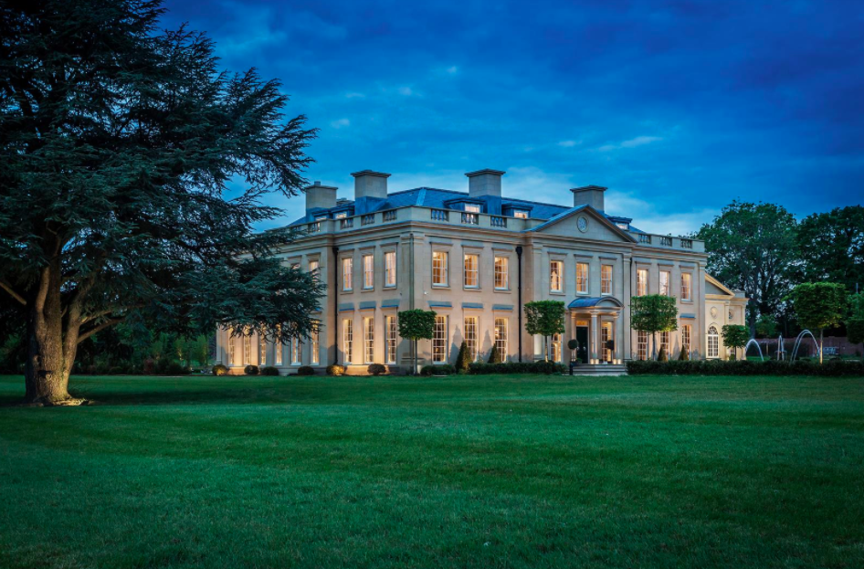 A modern mansion in the countryside. Photo: House.