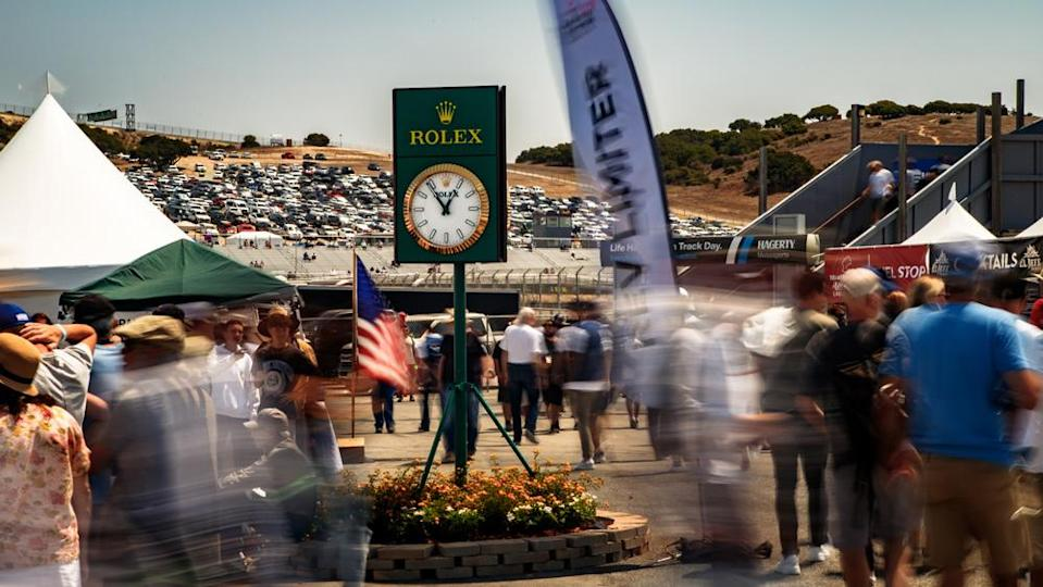 Another day at the races, all part of the 2021 Rolex Monterey Motorsports Reunion. - Credit: Photo by Stephan Cooper, courtesy of Rolex.