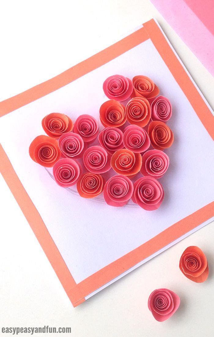"<p>Everything's coming up roses this Valentine's Day, thanks to this romantic red rose-filled heart card. The paper flowers may look intricate but they're super easy to create, and they make such a sweet statement.</p><p><strong>See more at <a href=""https://www.easypeasyandfun.com/rose-filled-heart-card/"" rel=""nofollow noopener"" target=""_blank"" data-ylk=""slk:Easy Peasy and Fun"" class=""link rapid-noclick-resp"">Easy Peasy and Fun</a>. </strong></p><p><a class=""link rapid-noclick-resp"" href=""https://go.redirectingat.com?id=74968X1596630&url=https%3A%2F%2Fwww.walmart.com%2Fip%2FROBOT-GXG-Origami-Paper-Double-Sided-Square-Folding-Craft-Sheets-Colored-100PCS-Multicolor-Colors-Easy-Fold-Papers-Arts-Crafts%2F552190377&sref=https%3A%2F%2Fwww.thepioneerwoman.com%2Fhome-lifestyle%2Fcrafts-diy%2Fg35084525%2Fdiy-valentines-day-cards%2F"" rel=""nofollow noopener"" target=""_blank"" data-ylk=""slk:SHOP CRAFT PAPER"">SHOP CRAFT PAPER</a></p>"