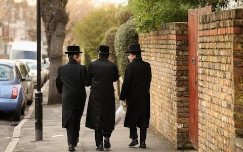 Traditionally dressed Jews in UK - Credit: Oli Scarff/Getty