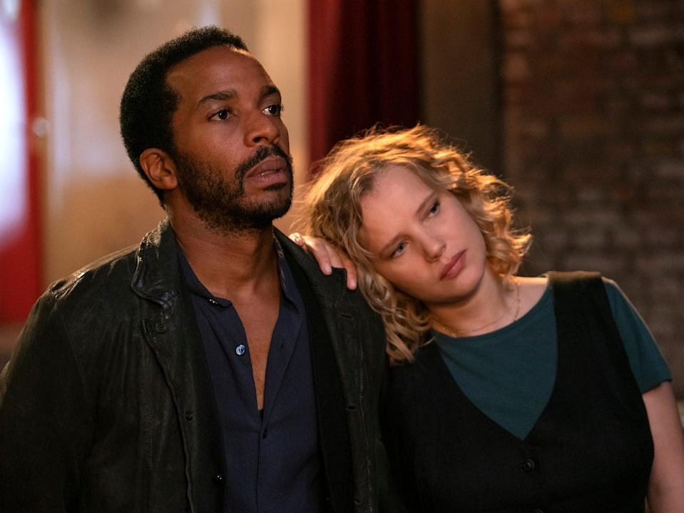 """André Holland and Joanna Kulig costar in """"The Eddy."""""""