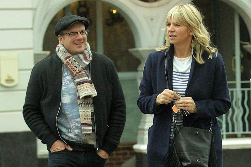 Emotional: Zoe Ball cycled for Sport Relief in memory of Billy Yates: FameFlynet UK