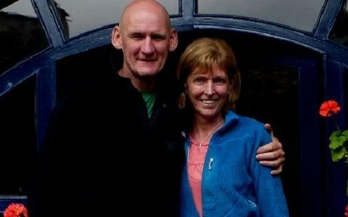 Ian Johnston and Sadie Hartley on holiday in Ecuador in 2013 - Credit: Lancashire Police