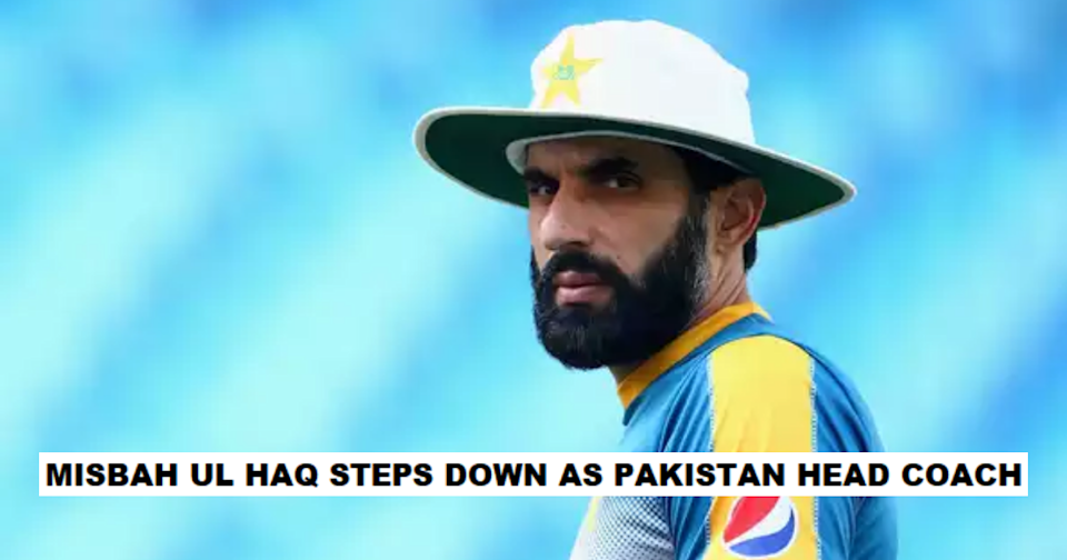 Misbah Ul Haq And Waqar Younis Step Down As Pakistan Coaches