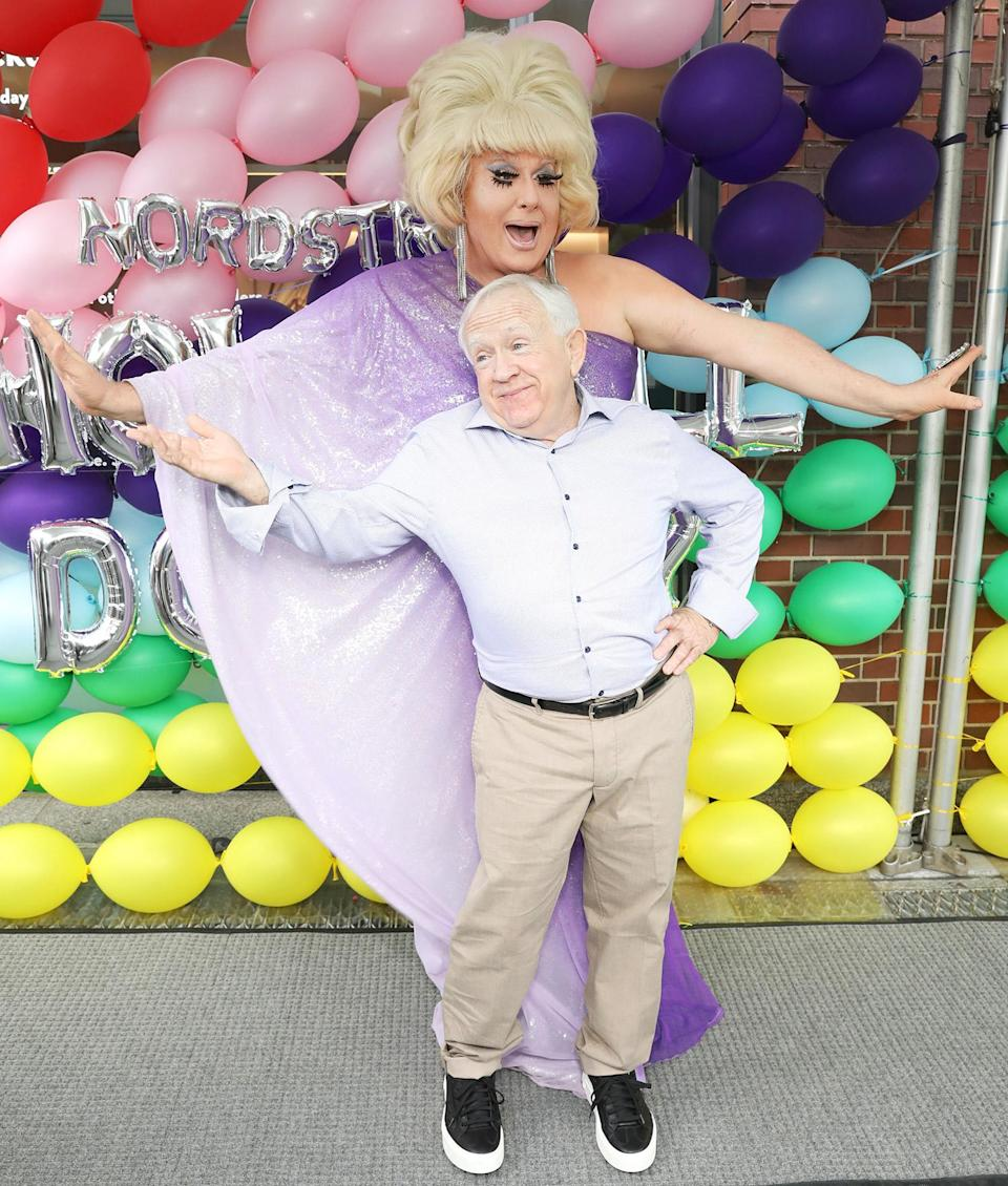 <p>Leslie Jordan and Lady Bunny join Nordstrom to celebrate NYC Pride on June 27. </p>