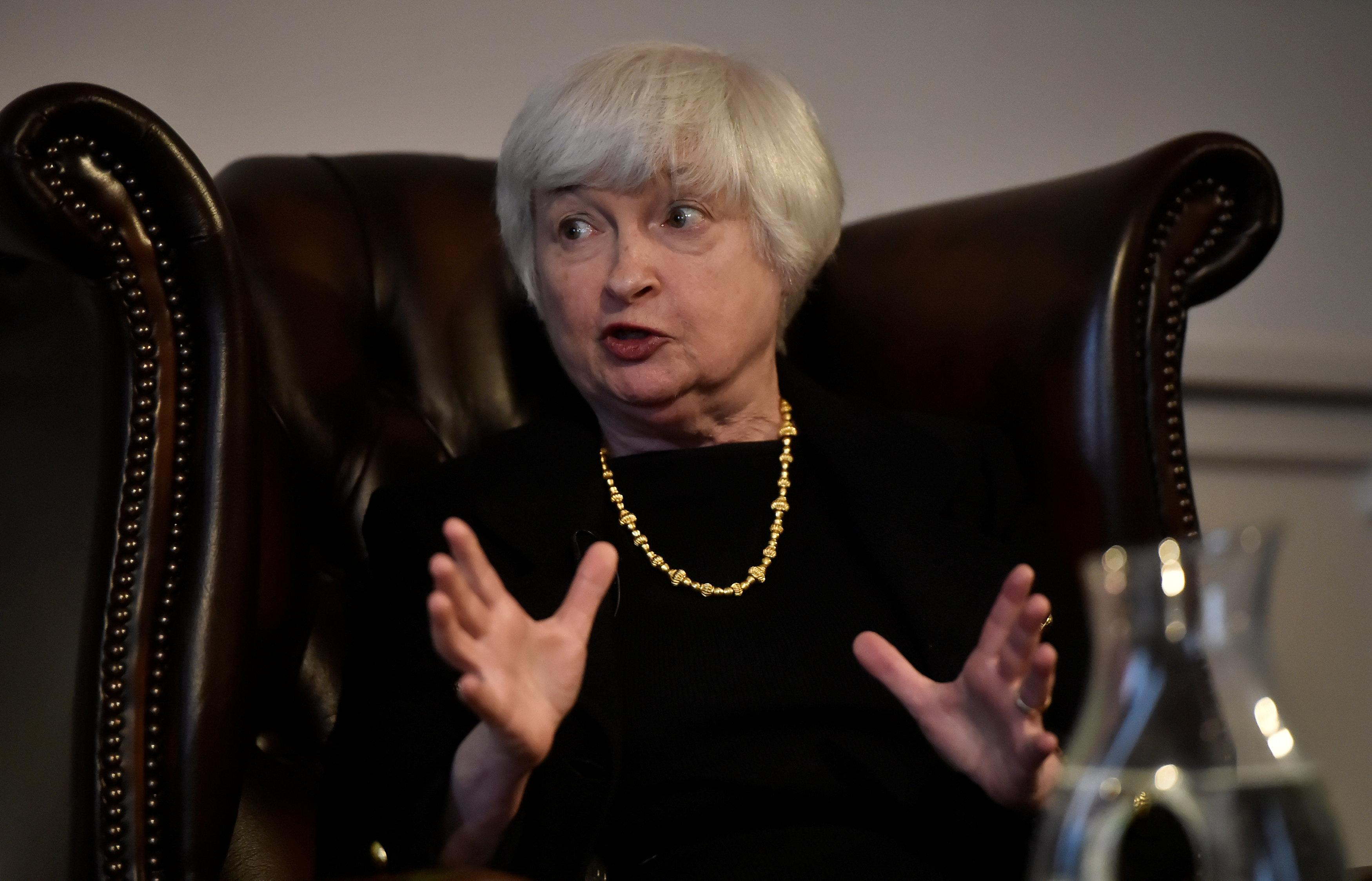 Federal Reserve Board Chairwoman Janet Yellen (REUTERS/Hannah McKay)
