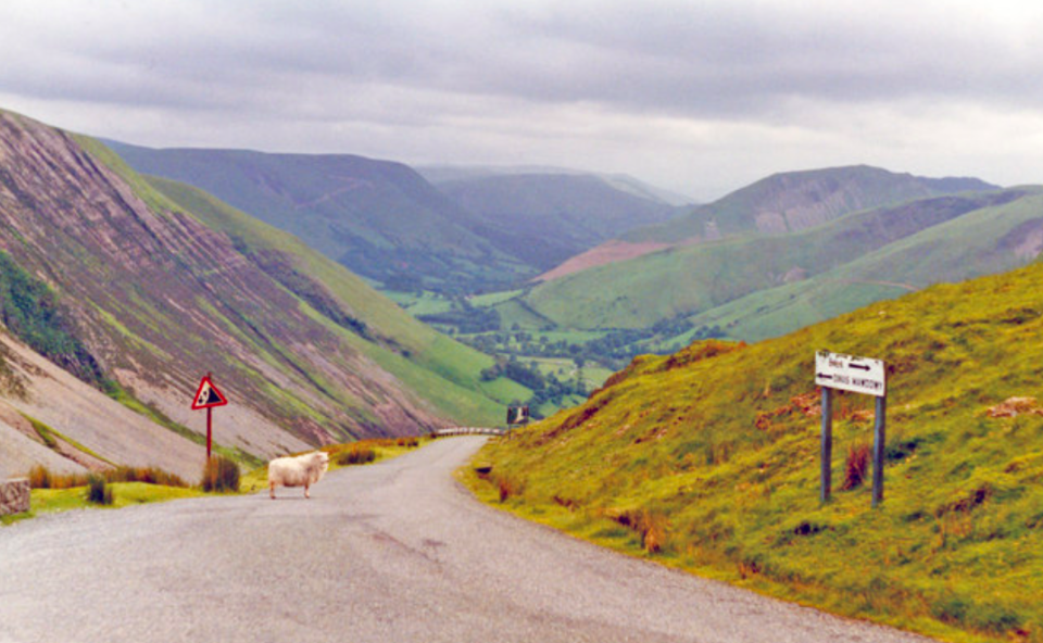 <p>6. Montgomeryshire, Wales. Broadband speed: 11.1Mbps. (Pic: Geograph) </p>