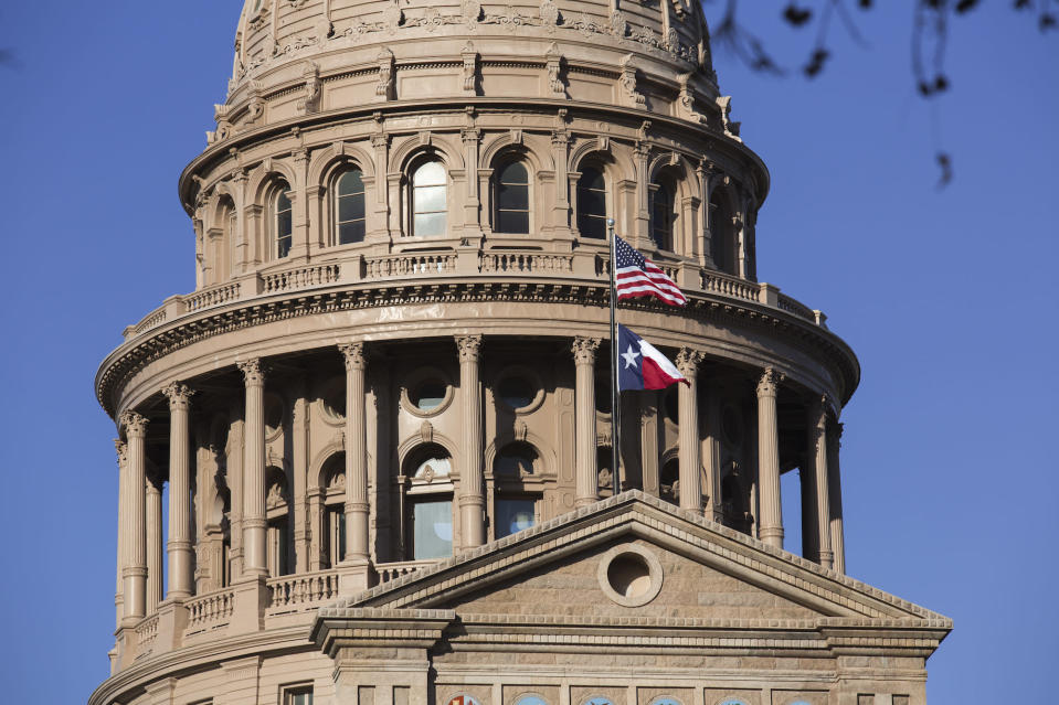 Texas State Capitol - Credit: Associated Press