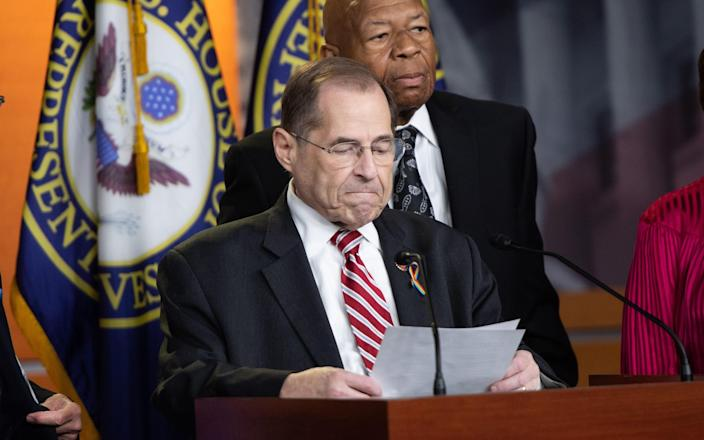 Donald Trump was accused by Jerrold Nadler in comments made to Fox News Sunday - AFP