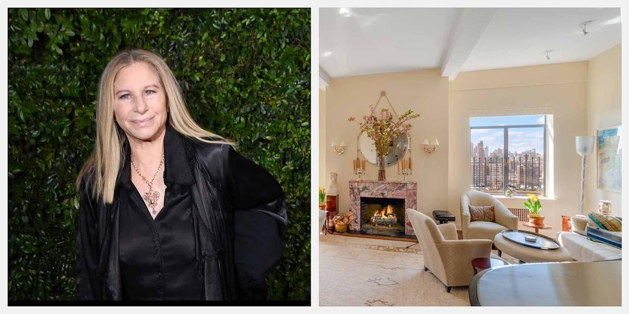 """<p><strong>The Central Park West duplex penthouse that Hollywood legend Barbra Streisand resided in for 30 years has been listed for $11.25 million (£8.7 million). </strong></p><p><strong></strong>Located in the notable Ardsley building, which was designed by the famed architect Emery Roth, the property features 3,670 square feet of sophisticated interior space, Central Park and Reservoir views, a private lift wine cellar, wood-burning fireplaces, and much more. </p><p>Scroll down for a look at the luxurious home, which is listed by <a href=""""http://foxresidential.com/listing/FR-782310/upper-west-side-ny-10025/"""" target=""""_blank"""">Fox Residential Group</a>.<br></p>"""