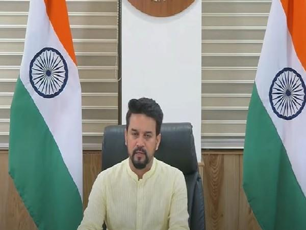 Union Minister for Information and Broadcasting Anurag Thakur