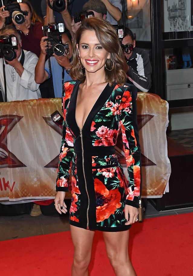 Cheryl at the media launch for The X Factor (Photo by: KGC-143/STAR MAX/IPx 2015 8/26/15)