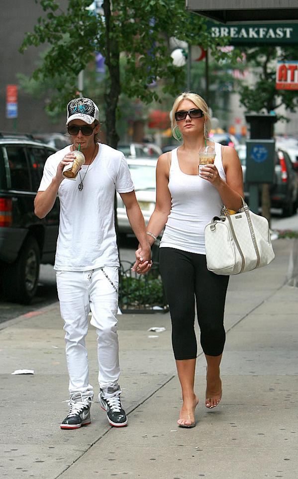 "Hopefully Brooke Hogan's petite beau Jonathan Prater is helping her cope with her parents' failed marriage, her brother's incarceration, and her failed music career. <a href=""http://www.infdaily.com"" target=""new"">INFDaily.com</a> - June 8, 2008"