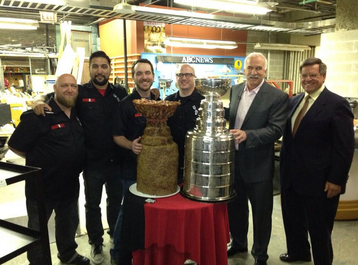Chronicles of Stanley: Blackhawks meet Meat Stanley Cup; Patrick Kane shimmies with Jimmy Buffett