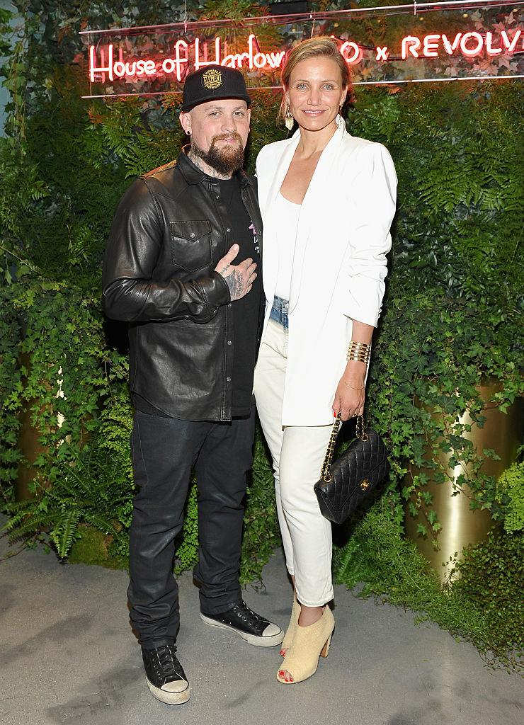 Cameron Diaz and Benji Madden have recently become parents to baby Raddix, pictured here in 2016. (Getty Images)