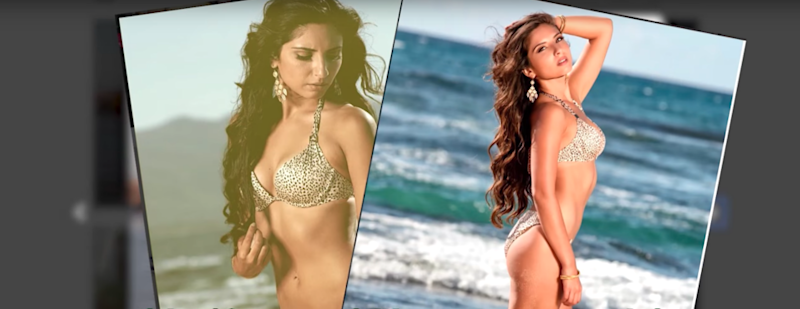 They enlisted the help of an Instagram model. Photo: YouTube/To Catch a Cheater