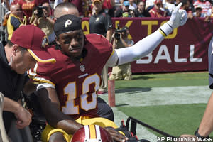 Dose: RG3 Benched in D.C