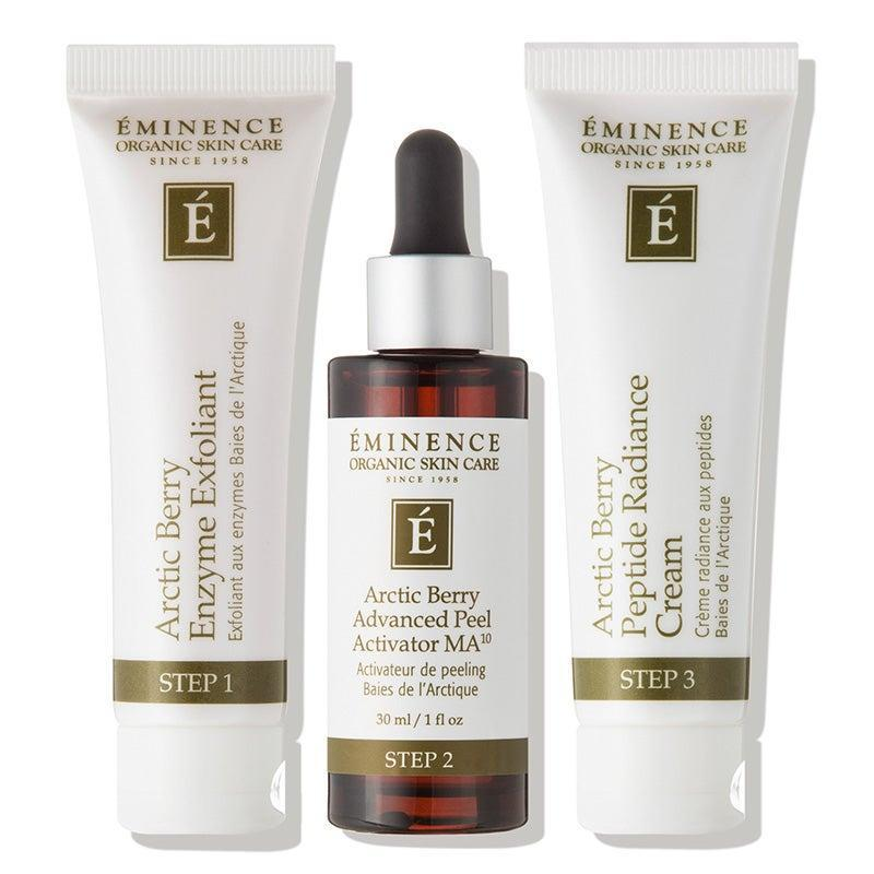 """<h2>Eminence Organic Skin Care Arctic Berry Peel and Peptide Illuminating System</h2><br>This set, which comes with a berry-infused chemical peel and moisturizer, will keep your mom's skin radiant well into summer. (Just remind her not to skimp on SPF during the day.)<br><br><strong>Eminence Organic Skin Care</strong> Arctic Berry Peel and Peptide Illuminating System, $, available at <a href=""""https://go.skimresources.com/?id=30283X879131&url=https%3A%2F%2Fwww.dermstore.com%2Fproduct_Arctic%2BBerry%2BPeel%2Band%2BPeptide%2BIlluminating%2BSystem_58876.htm"""" rel=""""nofollow noopener"""" target=""""_blank"""" data-ylk=""""slk:DermStore"""" class=""""link rapid-noclick-resp"""">DermStore</a>"""