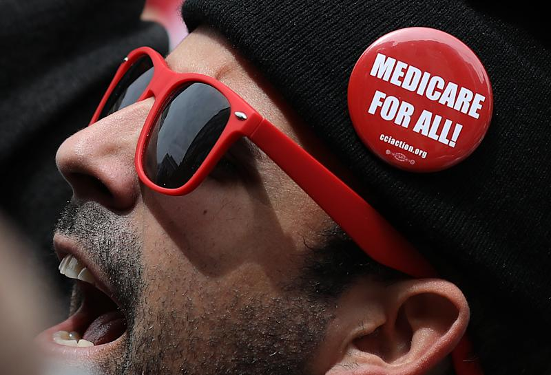 Medicare for All has become a hot-button issue. (Photo: Win McNamee/Getty Images)