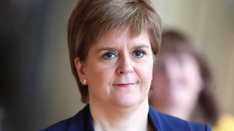 <p>Scotland's First Minister said the SNP at Westminster would vote against the draft agreement.</p>