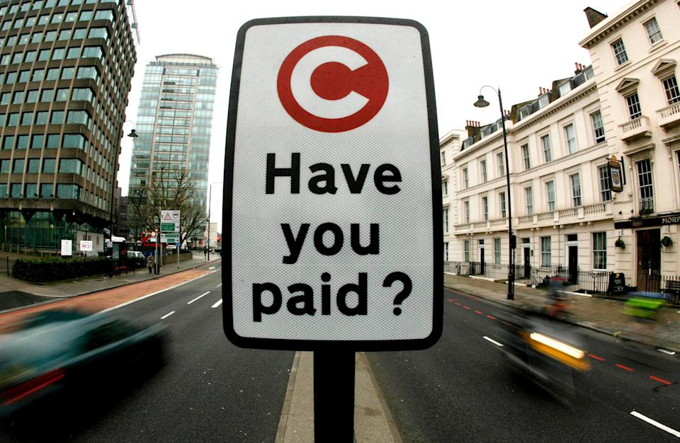 Diplomats owe millions of pounds in unpaid congestion charge fees
