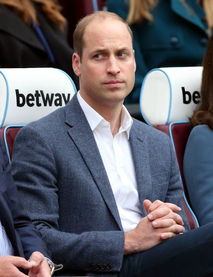 "<p>A few years ago, William would have topped our list of royal searches — but <a rel=""nofollow"" href=""https://ca.style.yahoo.com/prince-william-evolution-195628916.html"">the former teen heartthrob</a> is now a little older, a lot more settled and the ultimate dad! The 35-year-old rounds up the tail end of our list; he made headlines this year when his legit <a rel=""nofollow"" href=""https://ca.style.yahoo.com/news/prince-williams-dad-dance-moves-go-viral-200606036.html"">dad dance moves went viral</a>, when he and Kate announced they were <a rel=""nofollow"" href=""https://ca.style.yahoo.com/news/kate-middleton-pregnant-duchess-cambridge-092958010.html"">expecting royal baby no. 3</a> — and <a rel=""nofollow"" href=""https://ca.style.yahoo.com/prince-william-prince-harry-star-203145114.html"">he even had time to make a Stormtroopers cameo</a> in ""Star Wars: The Last Jedi."" <em>(Photo: Getty) </em> </p>"