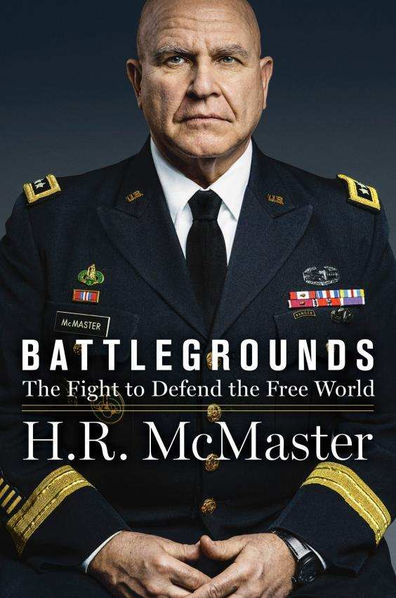 The book cover for Battlegrounds by HR McMaster, which is due to be published in April 2020 (AP)