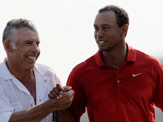 Steve Williams isn't alone in wanting Tiger Woods to bring attention back to golf. (AP Photo/Dave Martin)