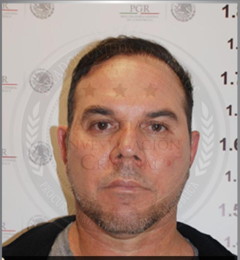 An undated photograph provided on April 12, 2012 by the Mexican Attorney General's office of Cesar Gastelum Serrano
