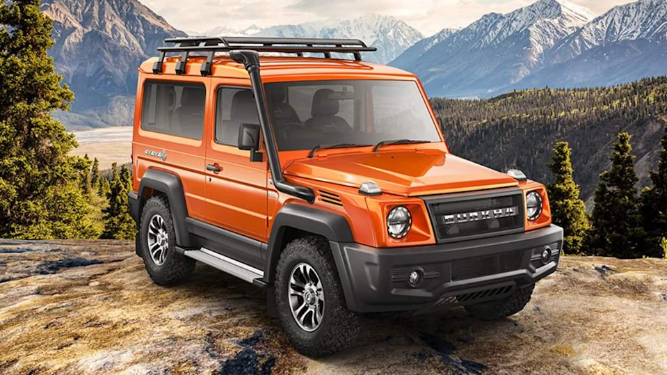 2021 Force Gurkha, with new design and features, breaks cover