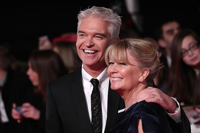 Phillip Schofield has been married to wife Stephanie for 27 years (Picture: PA)