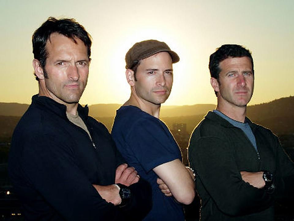 A publicity photo from NBC's