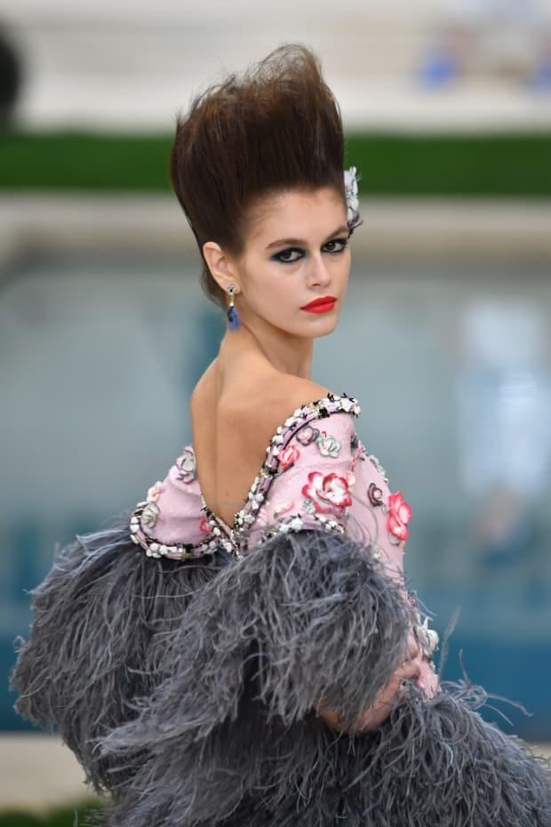 <p>A look from Chanel's Spring 2019 Couture runway show. Photo: Pascal Le Segretain/Getty Images</p>