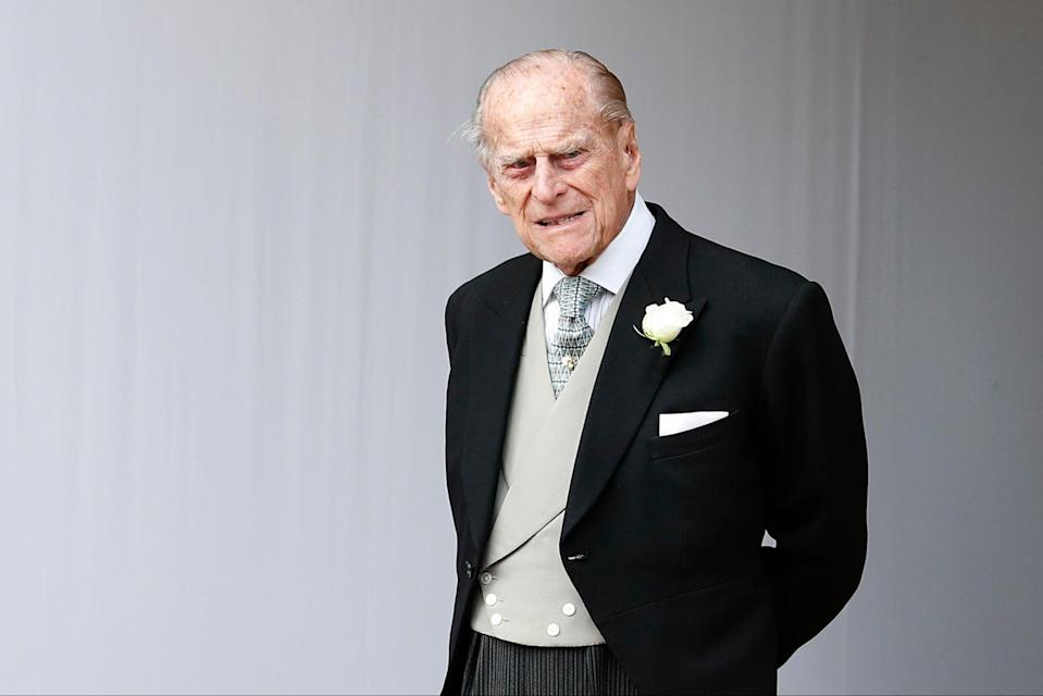 <p>Prince Philip died on April 9</p> (Getty Images)