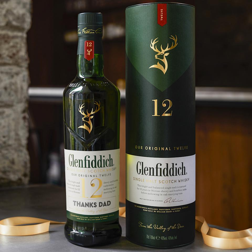Glenfiddich personalised labels. Photo: Supplied