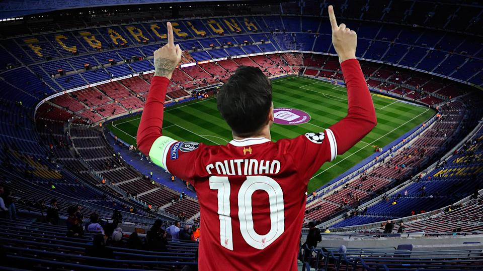 Philippe Coutinho looks destined to sign for Barcelona this winter.
