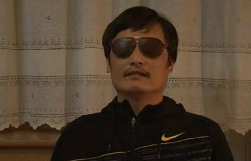 Chen Guangcheng, a blind Chinese lawyer, speaks in a video uploaded to YouTube after revelations of his escape from house arrest in Beijing. Chen confirmed his dramatic escape from house arrest and appealed to Premier Wen Jiabao to keep his family safe