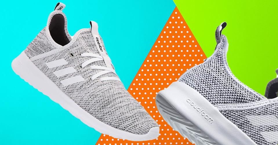 The Adidas Cloudfoam Pure Running Shoe is an outstanding walking shoe, say thousands of Amazon reviewers — and it's on sale. (Photo: Amazon)