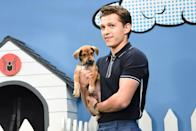 <p>Tom Holland on <em>The Late Show with Stephen Colbert</em> on June 24, 2019.</p>
