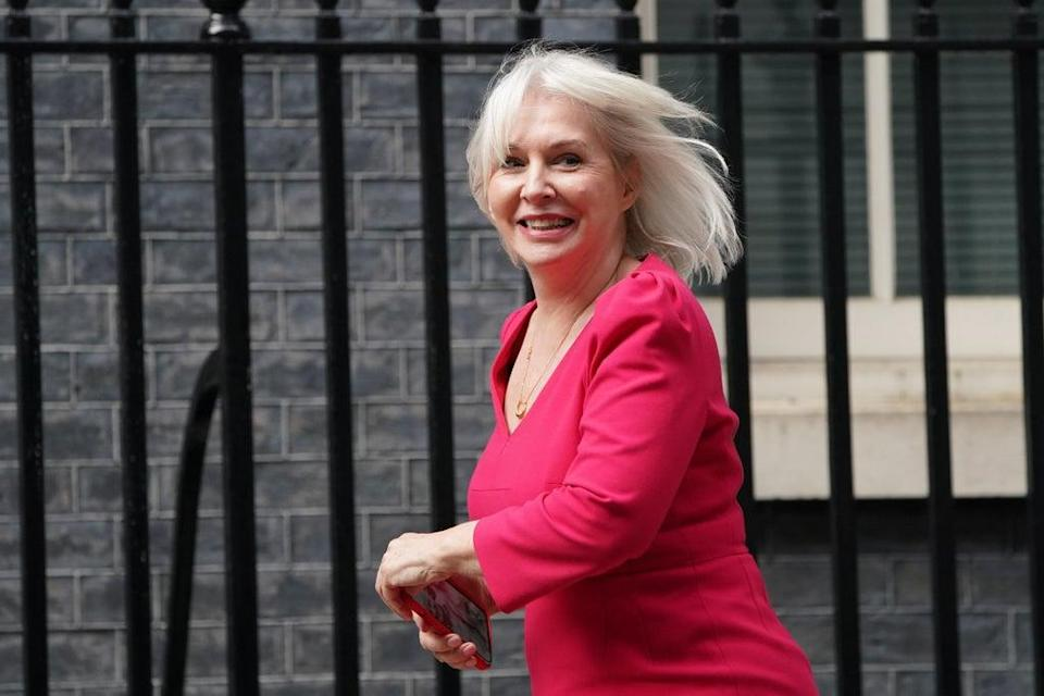 Nadine Dorries questioned the future of the BBC during the Tory Party conference (PA) (PA Wire)