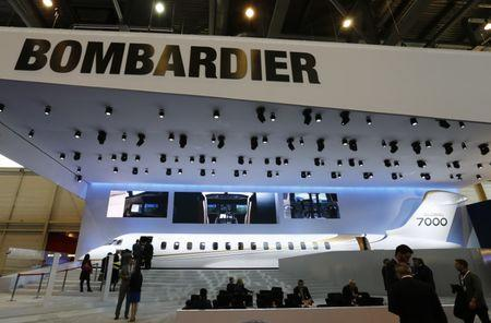 Bombardier flagship business jet completes its first test flight