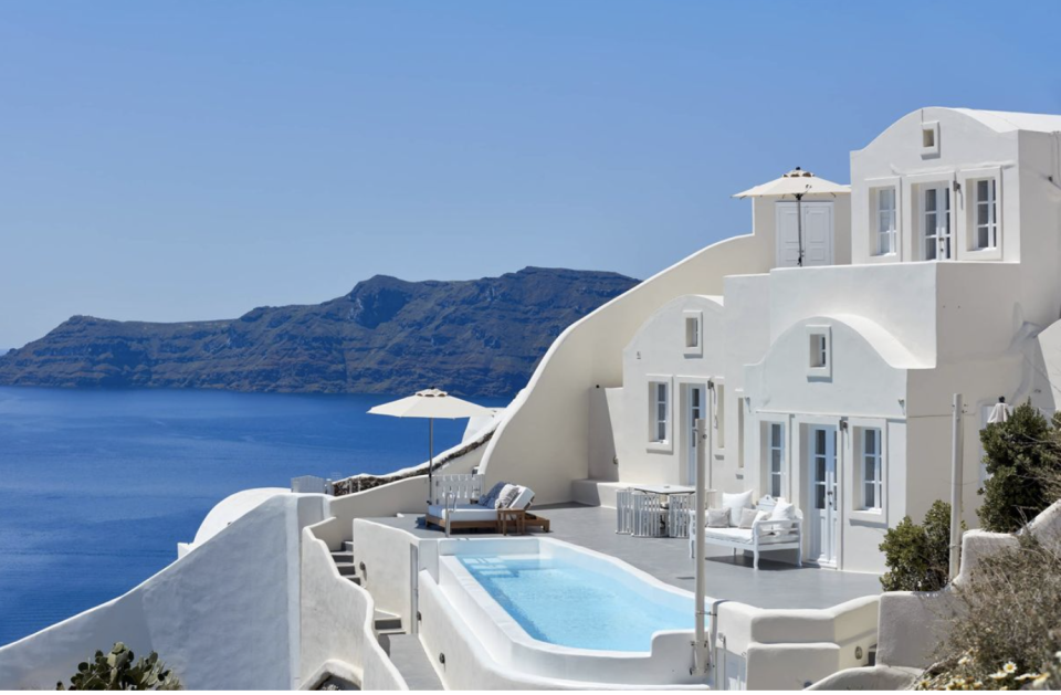 Canaves Oia Boutique Hotel in Santorini is one of the most popular luxury hotspots in Greece.
