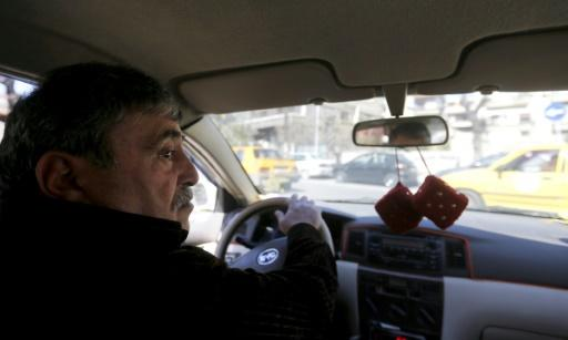 'Fear of death has turned into fear of poverty' says Damascus taxi driver Nabil al-Sharif as Syrians in the capital struggle with a war-battered economy