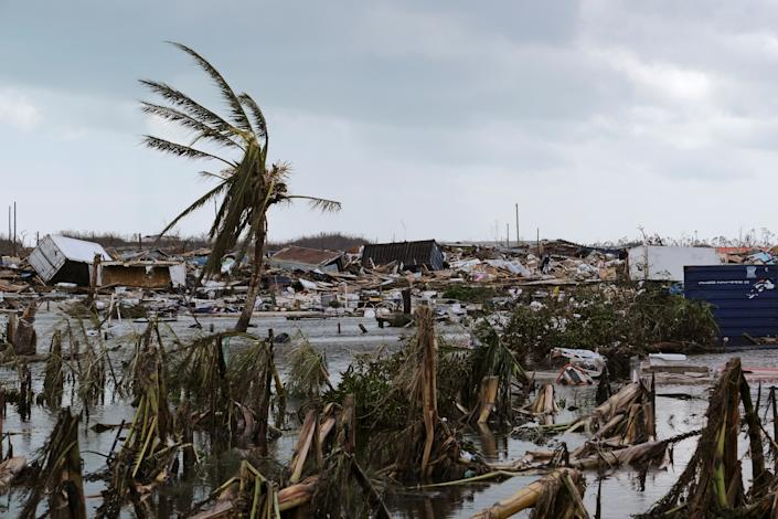 Damage in the aftermath of Hurricane Dorian on the Great Abaco island town of Marsh Harbour, Bahamas, Sept. 4, 2019. (Photo: Dante Carrer/Reuters)