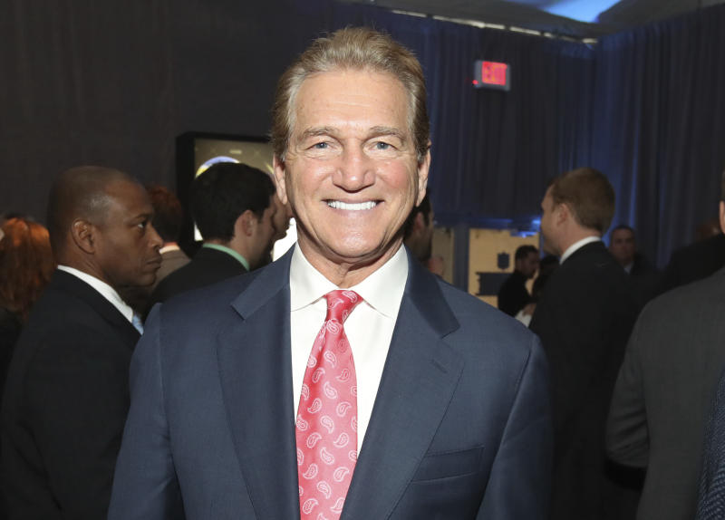 Former NFL player Joe Theismann attends the 7th Annual NFL Honors at the Cyrus Northrop Memorial Auditorium on Saturday, Feb. 3, 2018, in Minneapolis, Minnesota. (Photo by Jeff Lewis/Invision for NFL/AP Images)