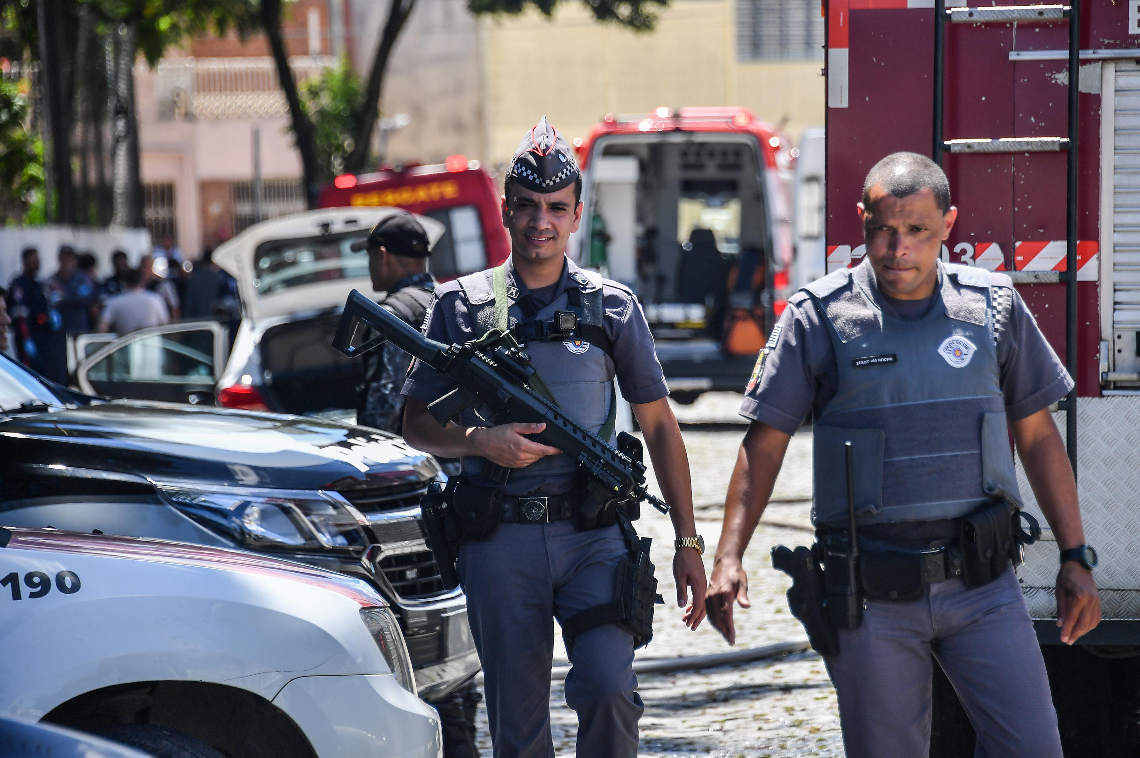 Victims killed, injured during school shooting in Brazil""